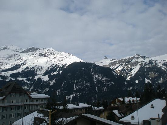 Hotel Jungfraublick Wengen: View from our room