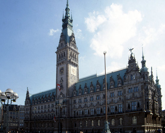 Hamburg&#39;s Rathaus