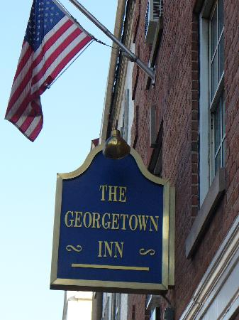 Georgetown Inn: Front of Hotel