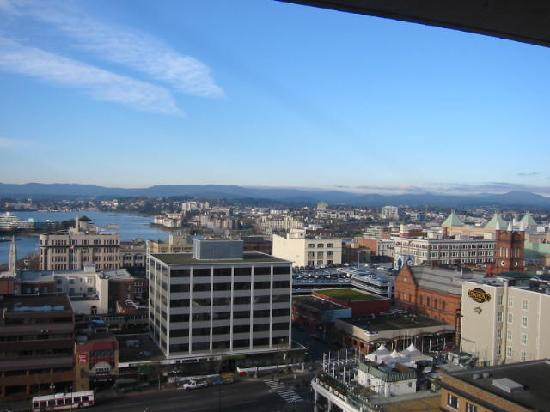 Chateau Victoria Hotel and Suites: view from the penthouse suite