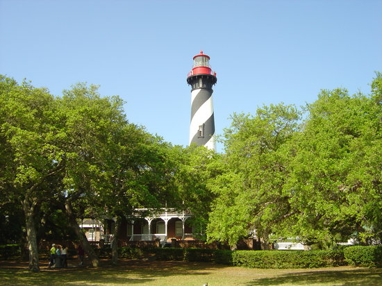 Saint Augustine, Floride : St. Augustine&#39;s Lighthouse at Anastasia Island 