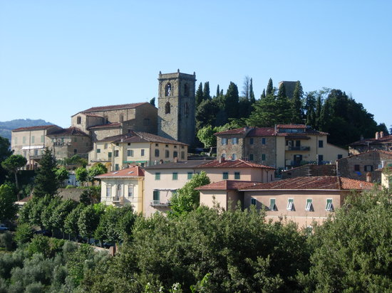 Montecatini Terme, Italia: View from hill of Alto