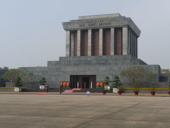 Hano, Vietnam : Ho Chi Minh Mausoleum, Hanoi 
