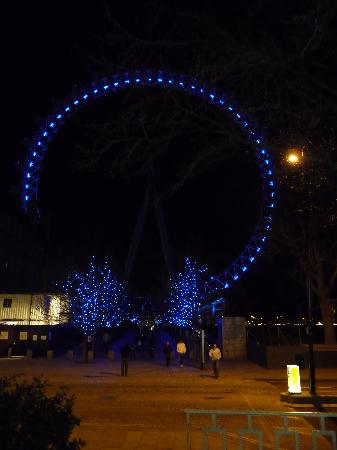 The London Eye at night!