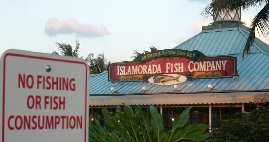 Dine at your own risk for Islamorada fish company