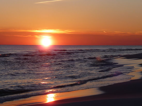 Santa Rosa Beach, FL: Sunset at the beach