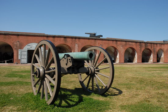 Savannah, Georgien: Fort Pulaski