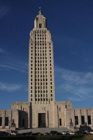 Baton Rouge, LA: The Capitol Building