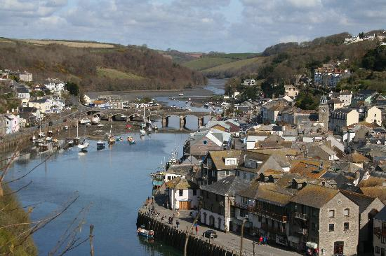 View From Our Room Picture Of Fieldhead Hotel Looe Tripadvisor