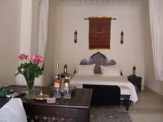Riad Hayati: suite bedroom