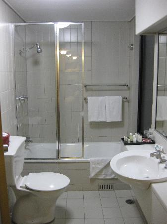 Studio apartment picture of rendezvous hotel sydney the for Studio apartment bathroom design ideas