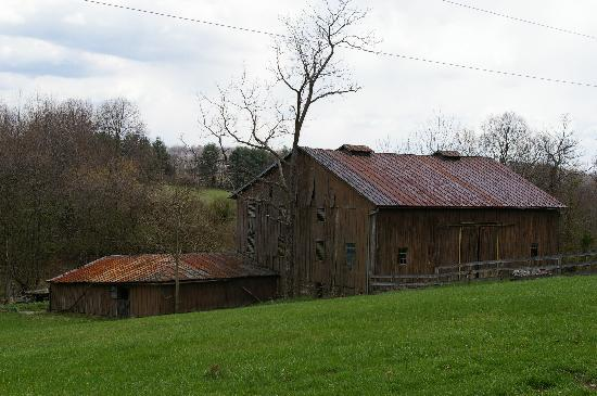 Leesburg, VA: one of the old barns