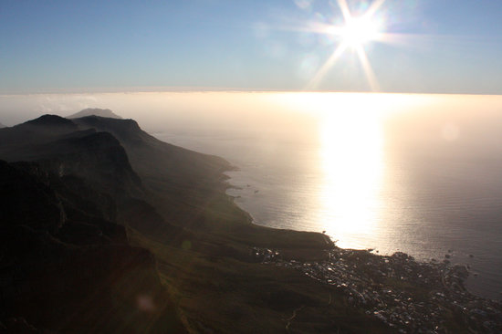 Afrika Selatan: Table Mountain