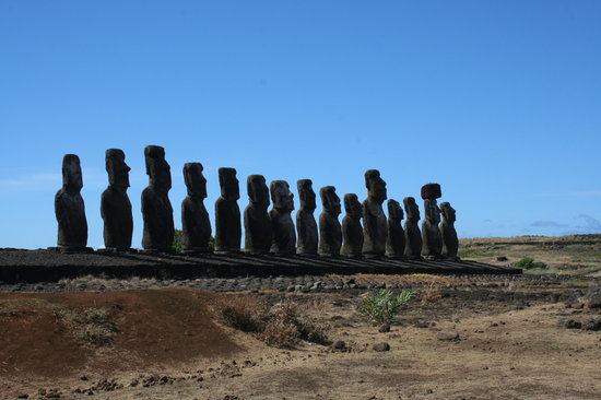 Isla de Pascua, Chile: Un lugar Maravilloso,