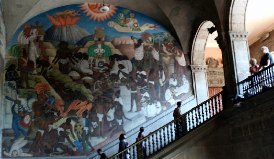 Diego rivera mural2 picture of national palace palacio for Diego rivera s mural