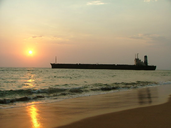 Sunset by the River Princess, Candolim