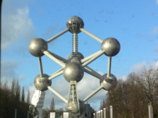 Bruxelles, Belgique : Atomium 