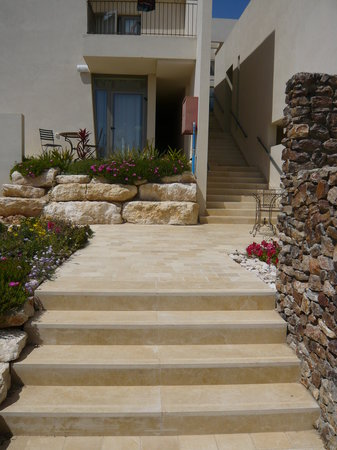 Yehelim Boutique Hotel: Back entrance