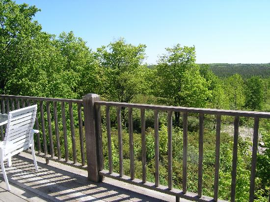 Juniper Inn: View from our private deck
