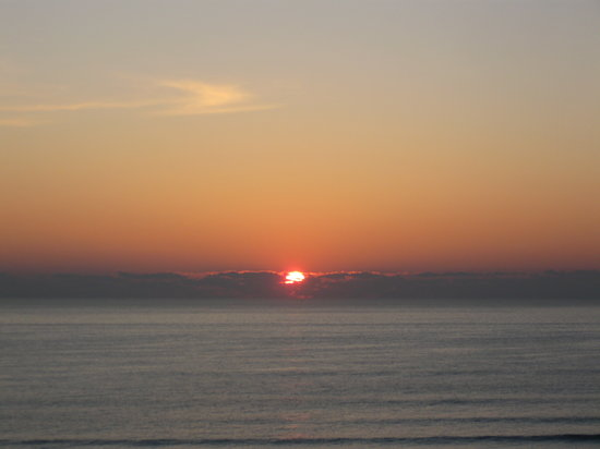 Ormond Beach, : Sunrise from our 5th floor balcony