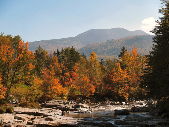 North Conway, NH: Rocky Gorge, Kancamagus Highway
