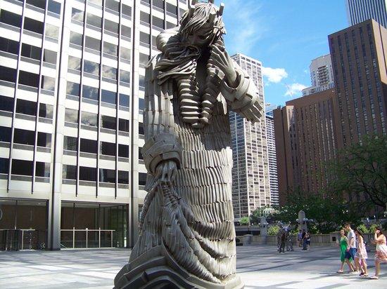 Chicago, IL: statue
