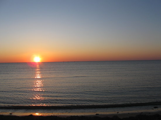 Cape Charles, VA: Another shot of the sunset