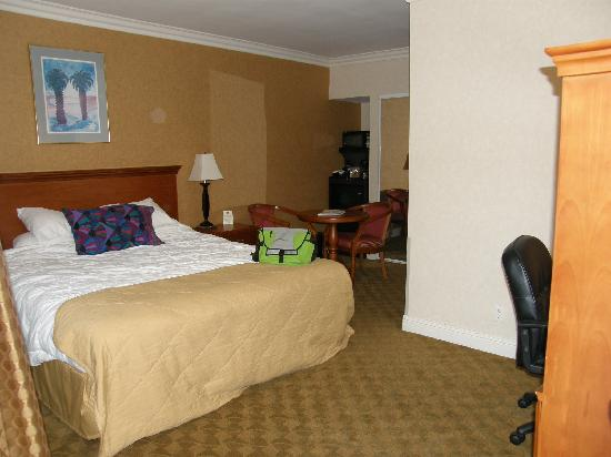 Ramada Los Angeles Convention Center: My room Nice and Big Good Amenities