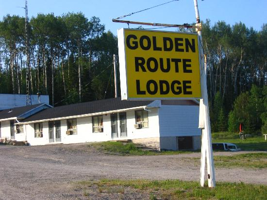 Chapleau, Canada: The lodge