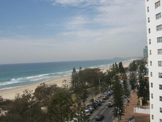 The Sands Holiday Apartments: view from balcony
