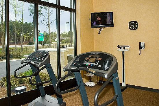 Holiday Inn Rocky Mount I-95 @ US 64 : Fitness Center 