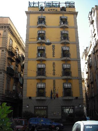 Front of the hotel - Picture of Hotel Suite Esedra, Naples ...