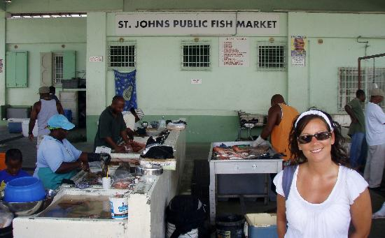 3 Martini Beach Bar Restaurant and Apartments: St.John's Fish Market