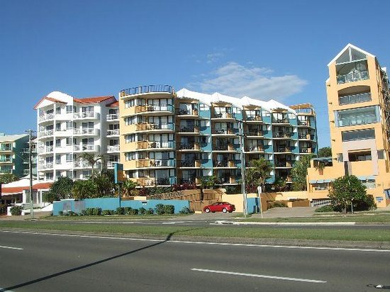 Ocean Boulevard Hotel: ocean boulevard from across the road