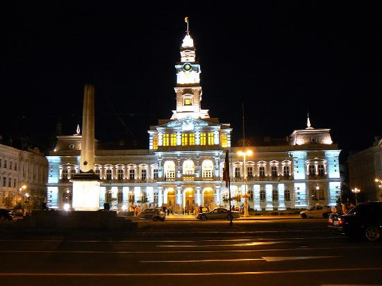 Arad, Romania: city hall