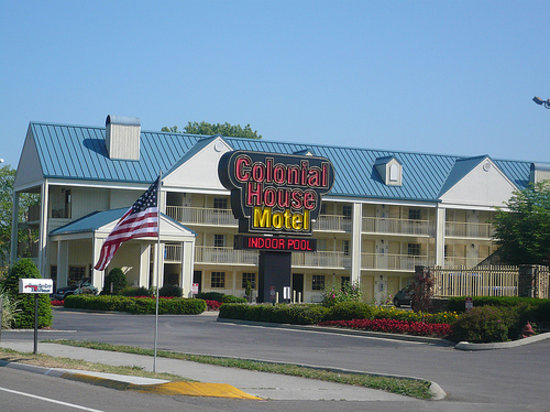 Colonial House Motel: Motel