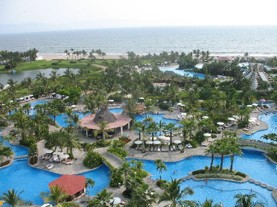 The view from our room - Picture of The Grand Mayan Nuevo ...