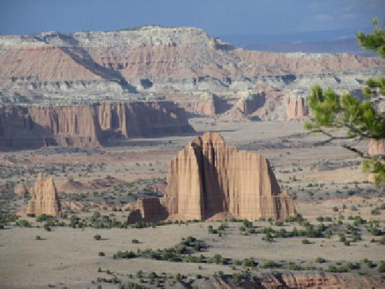 Parc national de Capitol Reef, UT : Upper Cathedral Valley