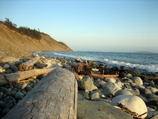 Garden Isle Guest Cottages: Fort Ebey State Park Beach