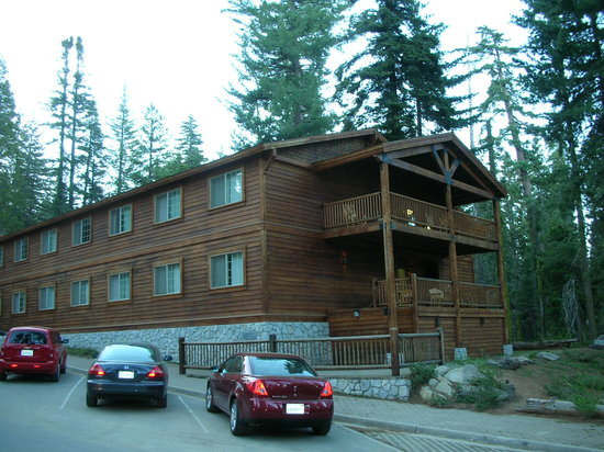 John Muir Lodge: exterior of lodge