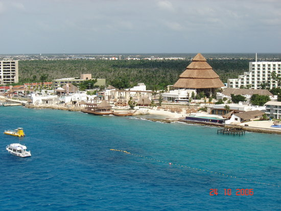 Cozumel, Mexique : the coast