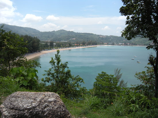 Phuket, Thailand: Vue sur Patong Beach