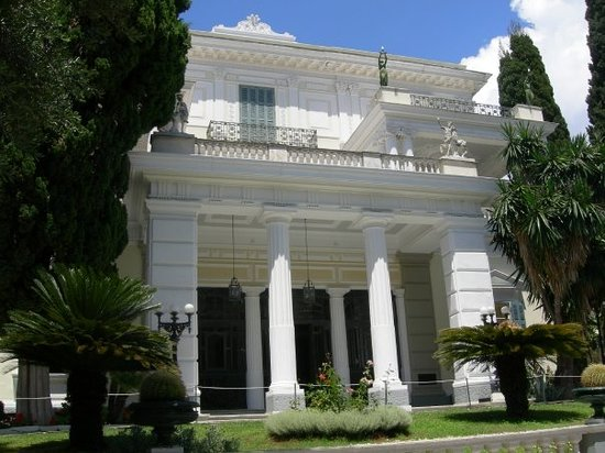 Corfu, Greece: Achilleon Palace