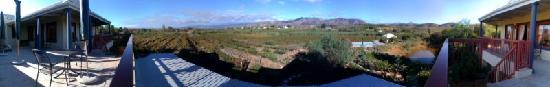 Calitzdorp, แอฟริกาใต้: Panoramic of view from house.