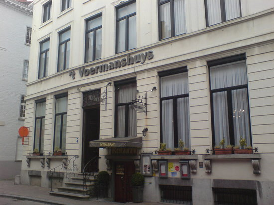 Hotel 't Voermanshuys: Front of the Hotel