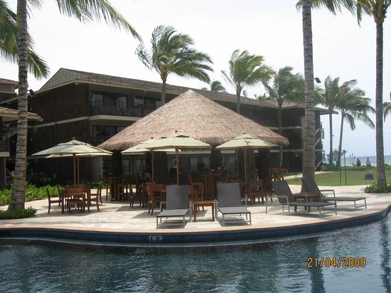 Koa Kea Hotel & Resort: Pool Bar