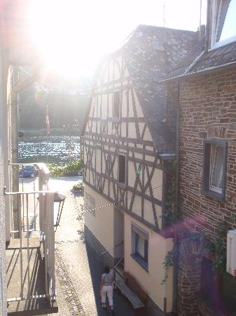 Alken, Deutschland: The view from our room