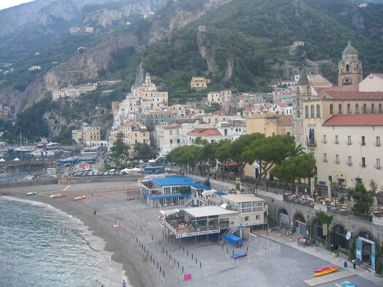 Amalfi-beach