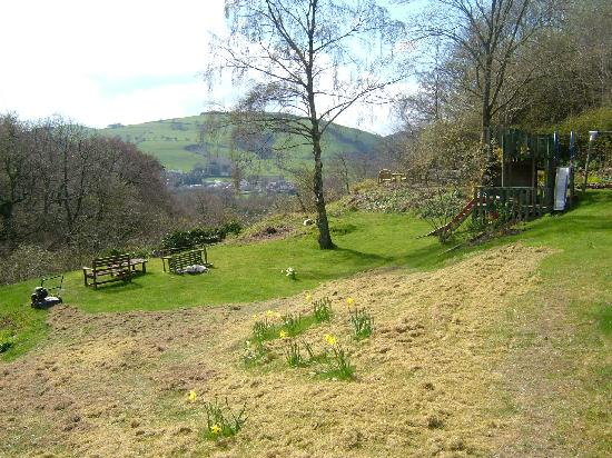 Maeshafn, UK: View from the house