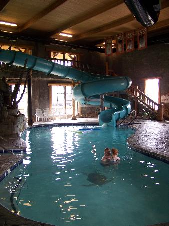 Indoor Waterslide And Pool Was Awesome Water Felt Like Bath Water Great Picture Of